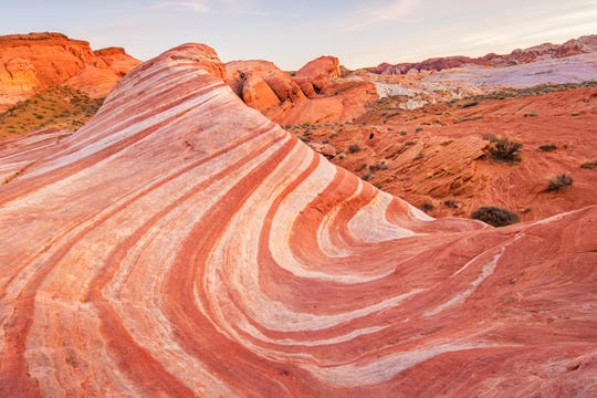 Mesquite is located near many natural beauties of the world, like the Valley of Fire State Park.