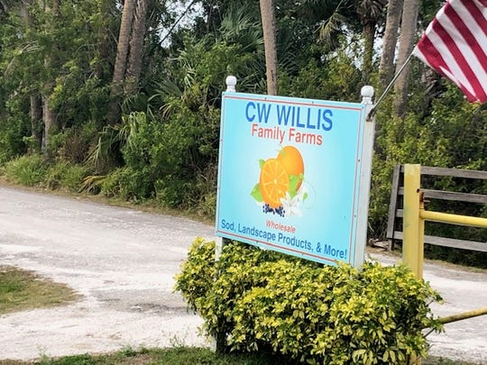 A 7.46-acre site on the north side of Oslo Road just east of 58th Avenue is slated to be the newest location of CW Willis Family Farms LLC, a local nursery and landscaper in Indian River County. The address is 3700 9th St. S.W.