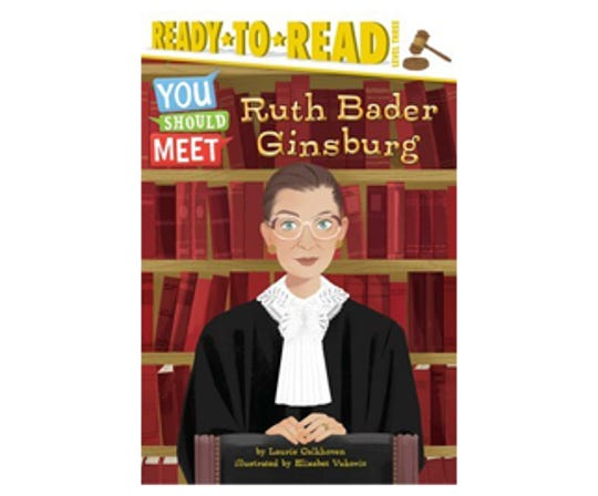 Ruth Bader Ginsburg by Laurie Calkhoven, illustrated by Elizabet Vukovic