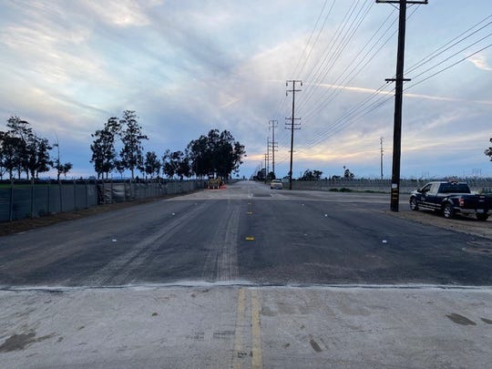 A section of Hueneme Road reopened on Sunday after a water pipe broke, forcing the road to close for 9 days.