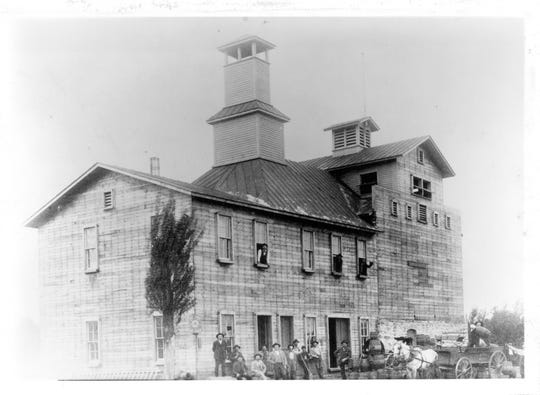 The Twin City Brewery was built in 1893 in Grand Rapids, Wisconsin.