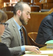 Wichita County First Assistant Public Defender David Bost is shown in court in this March 9, 2020, file photo.