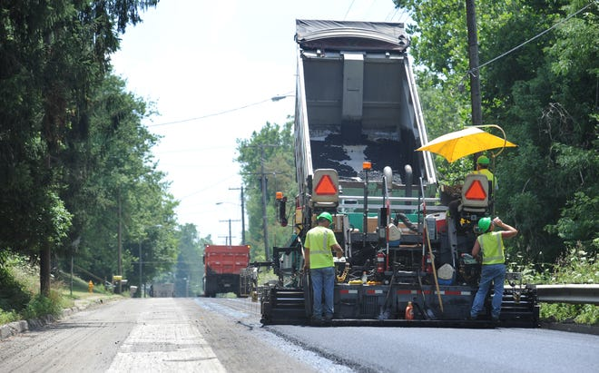 The City Zanesville will be paving 6.8 miles of city streets this year, partially paid for by an influx of gas tax money.