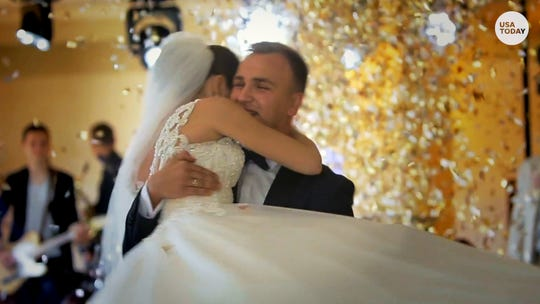 Couples who have been planning their big wedding for a year or more must now decide whether to go ahead, but risk the spread of the coronavirus; or cancel; or scale back; or postpone.  Gannett file photo