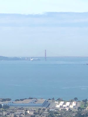 Princess Cruises' Grand Princess was approaching the Port of Oakland just ahead of noon local time Monday.