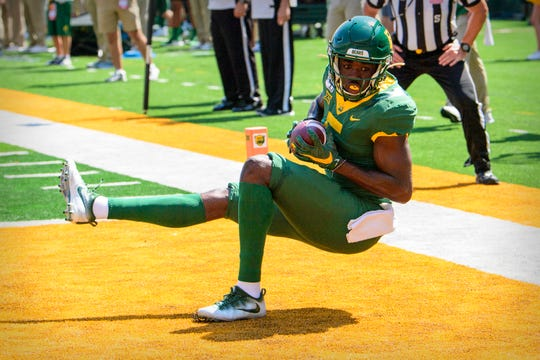 Baylor's Denzel Mims offers an enticing option at wide receiver.