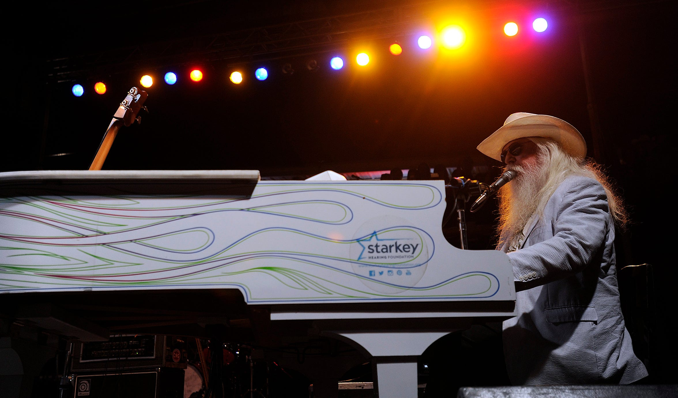 "Leon Russell was the legend for the 2014 Outlaws show, performing classics such as ""Lady Blue,"" ""A Song for You"" and ""Tight Rope.""He died in 2016."