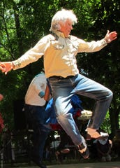 Rodney Sutton, renowned for his expertise in traditional mountain dance, will lead Irish country dancing steps during the Laurel Community Center event set for St. Patrick's Day, March 17.