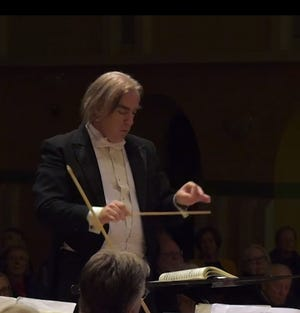 Daniel Bruce was due to conduct the Burlington Civic Symphony concert Saturday before the performance was canceled over coronavirus concerns.