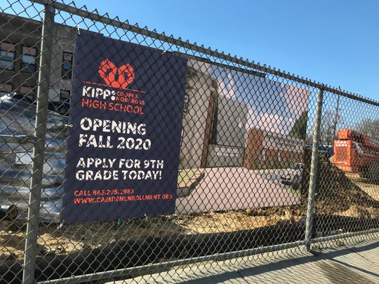 The new KIPP Cooper Norcross High School will open at 8th and Jackson streets in Camden's Liberty Park neighborhood in the fall.