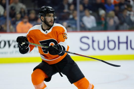 Defenseman Shayne Gostisbehere has played only one NHL game since January after having arthroscopic surgery on his left knee.