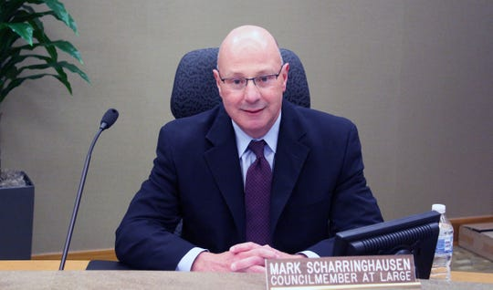 Former Fairfield Councilman Mark Scharringhausen was appointed to fill the unexpired term of Ron D'Epifanio, who died Jan. 21.