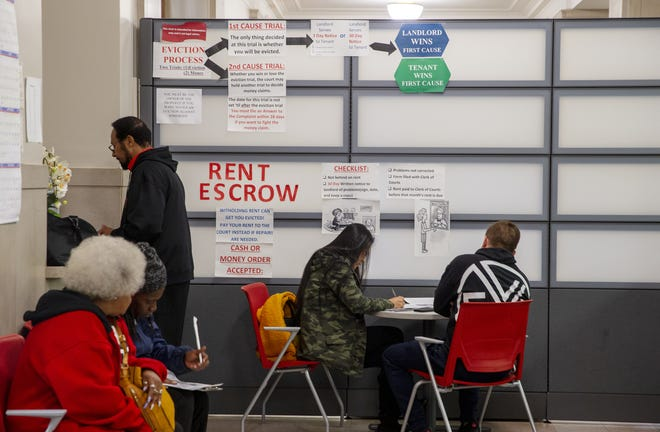 The Hamilton County Municipal Court Help Center provides information to renters facing eviction. About 88,000 Cincinnati residents are considered burdened renters who spend more than 30% of their income on housing. About 4,500 are evicted every year.