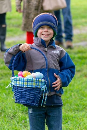 Age-based egg hunts are free to kids ages 1-12 at Historic Collinsville Pioneer Settlement on Saturday, April 4.