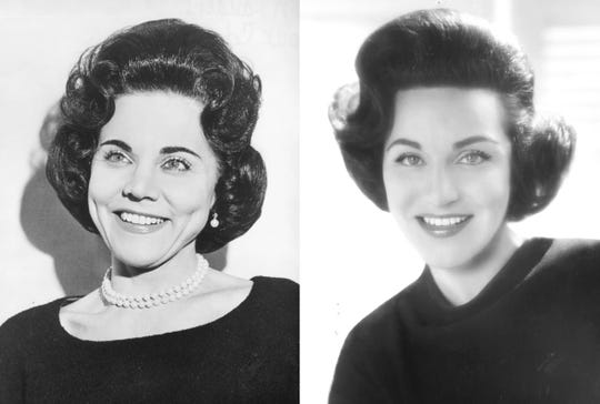 Ann Landers (Esther Pauline Lederer, 1918-2002) & Abigail Van Buren (Pauline Esther Phillips, 1918-2013) were twin columnists celebrated for their heartfelt prose. The sisters were known for their progressive views on civil rights, reproductive rights, divorce, addiction and gun control.