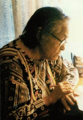 "Jean ""Adeline"" Morgan Wanatee (1910-1996) was a Meskwaki historian and and champion for the rights of native women. The first woman elected to the Meskwaki Tribal Council, Wanatee pushed for better tribal healthcare, creating a center for community health and nutrition."