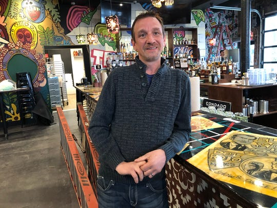 Paul Zajac is the general manager of the new Condado Tacos in Midtown.