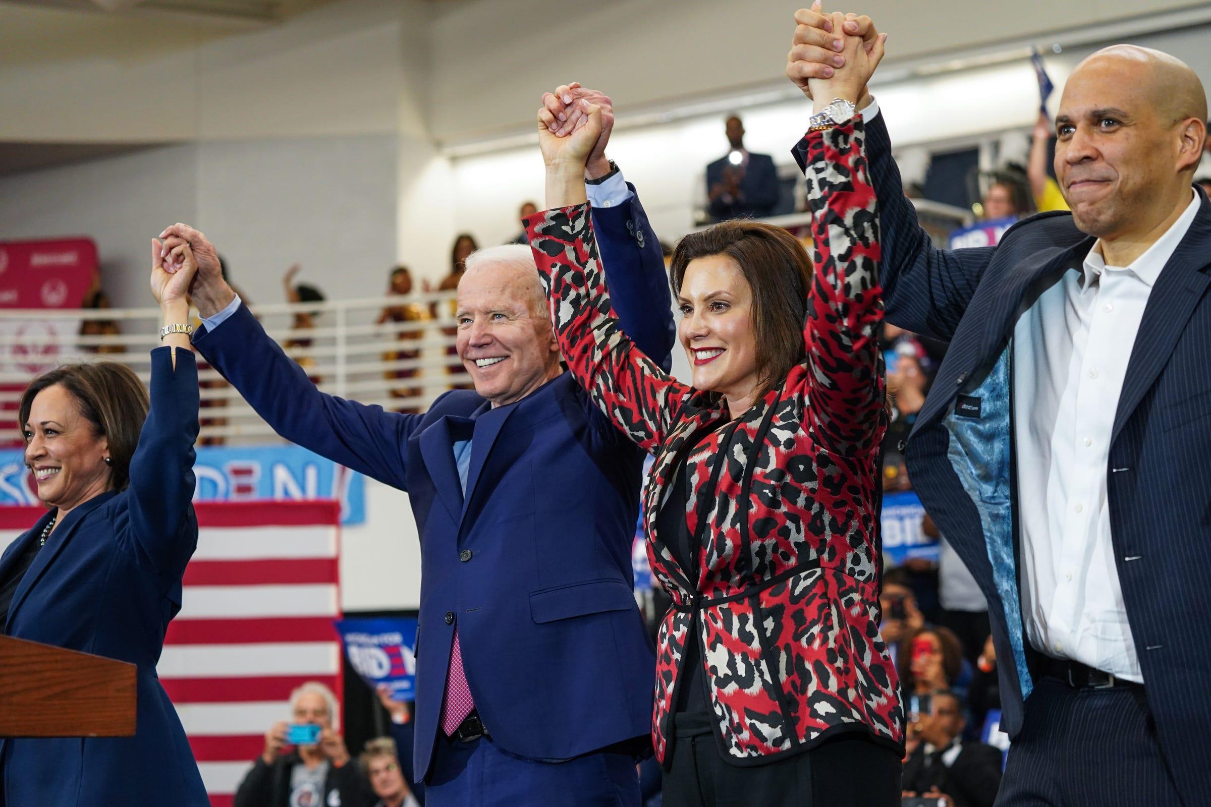 Joe Biden vice presidential selection committee announced