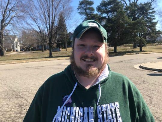 Andrew George, of Lansing, Michigan.