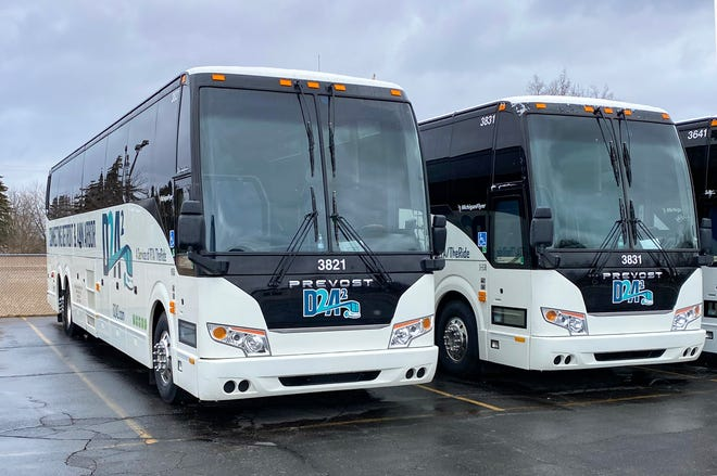 A new hourly bus service, called D2A2, will connect Detroit and Ann Arbor beginning on March 16.
