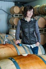 Winemaker Kasey Wierzba of Shady Lane Cellars