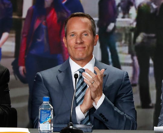 Tigers owner Chris Ilitch has spent extra time this spring watching prospects Riley Greene and Matt Manning in action.