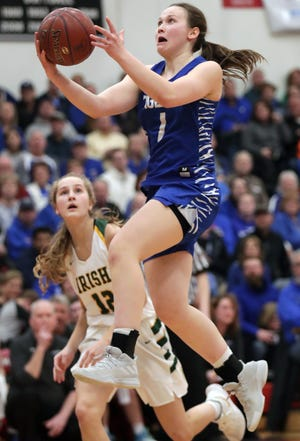 Wrightstown's Bridget Froehlke will miss the WIAA state tournament after sustaining a knee injury in practice Monday.