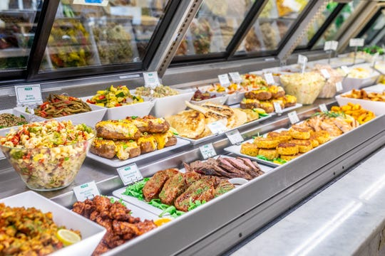 Reid's Fine Foods offers a butcher, a cheese counter, a pastry counter as well as a deli with prepared salads and made-to-order salads and sandwiches.