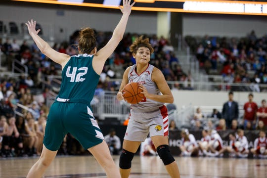 The IUPUI women punched their ticket to the NCAA women's tournament after beating Green Bay for the Horizon League title on Tuesday.