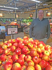 One of Tony Higginbotham's most significant improvements has been to the produce department at the Food City on Clinton Highway in Powell.