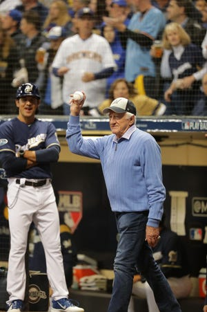 Bob Uecker will be part of the Brewers' radio broadcasts for the 50th season.