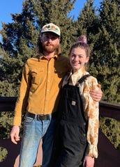 Hayden Holbert  and Lydia Nye run Avrom Farm in Ripon.