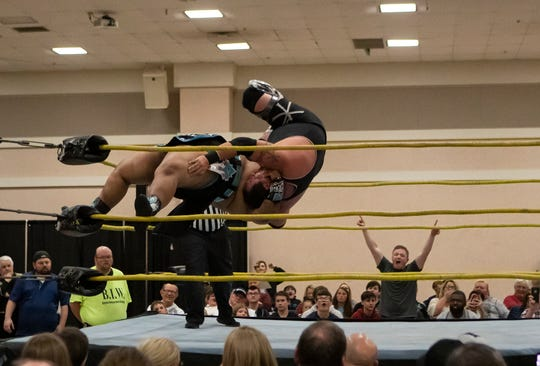 Bayou Independent Wrestling took over the West Monroe Convention Center in West Monroe, La. for a wrestling event on March 7
