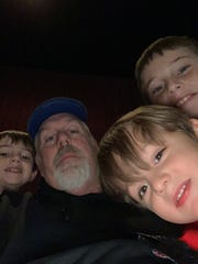Terry Curtis, second from the left, with his youngest sons Easton, Dawson and Justin. Terry and Dawson were killed in a tornado on March 3.