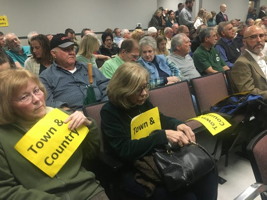 Williamson County land owners flooded the auditorium at the Williamson County Administrative Complex to hear the county commission vote on the updated land use plan, Williamson 2040.