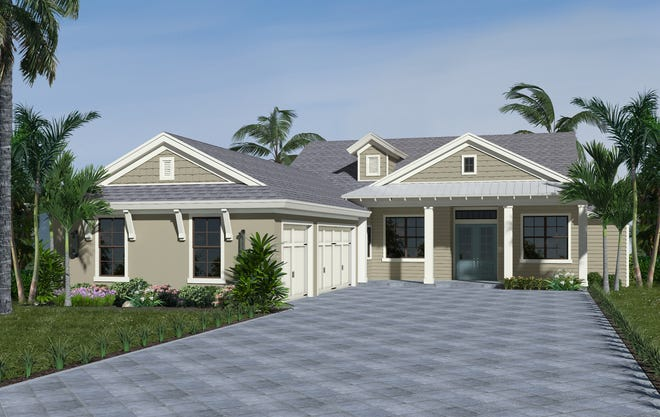 Divco Custom Homes' second home in Babcock Ranch, the Sawgrass, is due to be completed in late spring.