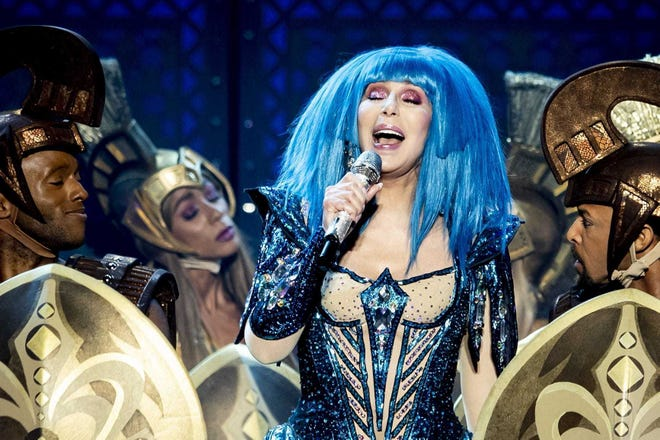 Cher performs during a concert in the Hallenstadion in Zurich, Switzerland in 2019. She performs March 26, 2020, at Amalie Arena in Tampa.