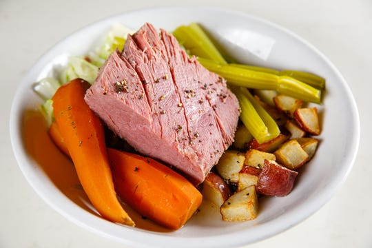 This St. Patrick's Day, The Local in Naples will serve corned beef specials, including this corned beef and cabbage dinner.
