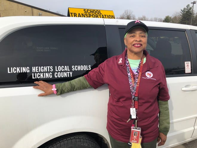 Juanita Dean has been a van driver and school bus assistant at Licking Heights for nearly seven years.