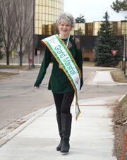 Livonia resident Peggy Gray will be wearing an Irish sash of honor this year as she acts as the Grand Marshal of the St. Patrick's Day Parade in Detroit.
