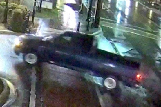 Farmington public safety officers are trying to identify this vehicle suspected in a Hewitt's Music burglary.