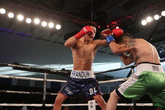 La Quinta's Brandun Lee (left) will headline a fight professional boxing card on SHOBOX: The Next Generation Friday, March 13.
