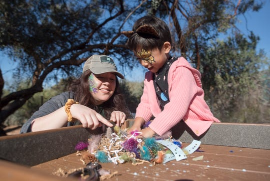 Children can play with nature at the new Cactus Clubhouse.