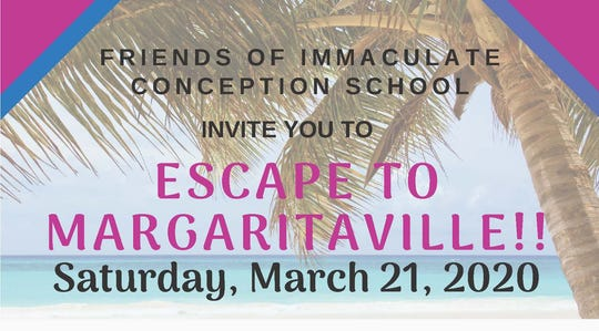 """On Saturday, March 21, ICS is hosting its annual auction with a """"Margaritaville"""" theme this year, bringing a """"tropical night of sunshine and sand"""" to Port Clinton."""