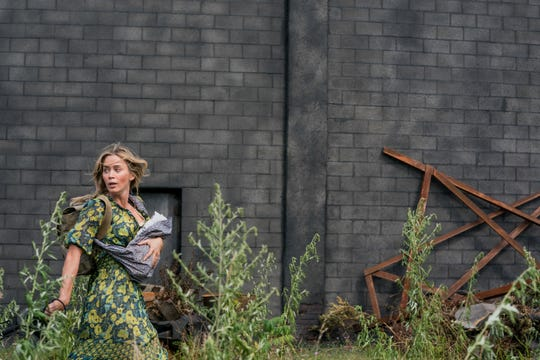 """Evelyn (Emily Blunt) braves the unknown in """"A Quiet Place Part II."""""""