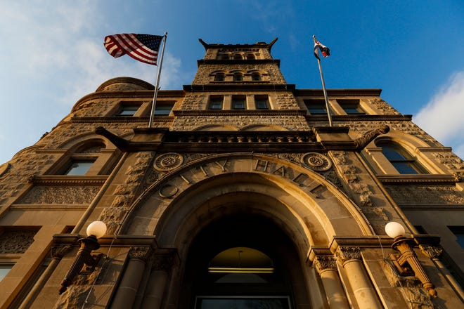Historic City Hall in Springfield, Missouri on Monday, March 9, 2020