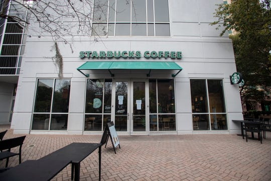 The Starbucks located next to the Kleman parking garage in downtown Tallahassee will be permanently closed as of Friday, March 13, 2020.