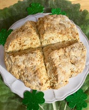 Celebrate St. Patrick's Day with Traditional Irish Soda Bread.