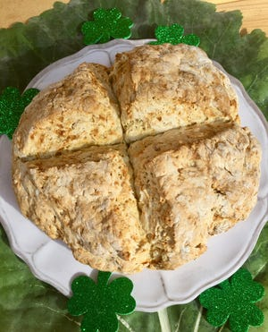 Celebrate St. Patrick's Day with Traditional Irish Soda Bread.