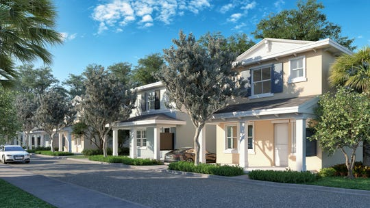 Proposed development in Stuart, Avonlea Crossing, is intended to be workforce housing for the city's middle class. The single-family homes would be detached and the townhomes attached.
